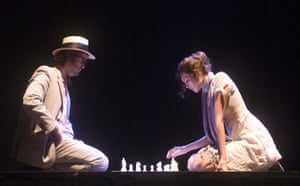 Venice Biennale Gallery 2: Sean Ono Lennon and Charlotte Kemp Muhl play chess in Anton's Memory