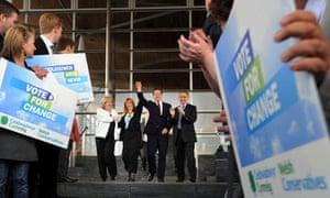 David Cameron and Kay Swinburne