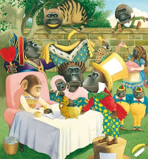 Anthony Browne: Willy Dreamer, illustration by Anthony Browne