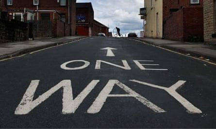 Street in Barnsley for BNP story
