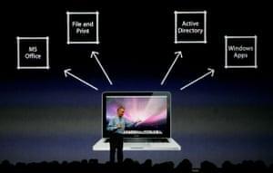 Apple conference: Bertrand Serlet, Senior Vice President of OS X Software