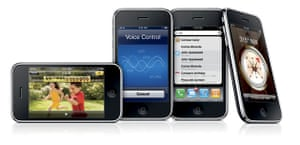 New iphone launch: Publicity photo of Apple iPhone 3GS