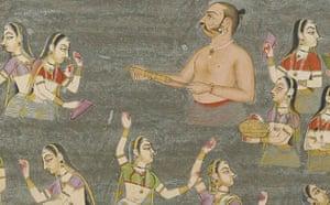 Maharaja Bakhat Singh: Maharaja Bakhat Singh rejoices during Holi