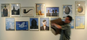 Musee Magritte Museum: A gallery in the new Magritte museum in Brussels
