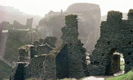 Tintagel Cornwall King Arthur walk