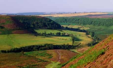 North Yorkshire Hole of Horcum walk