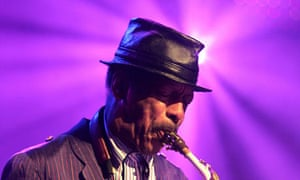 Ornette Coleman at the 40th Montreux Jazz festival in Montreux in 2006