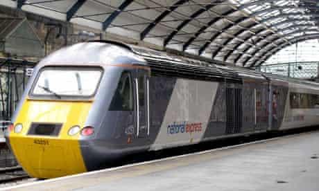 National Express east coast train