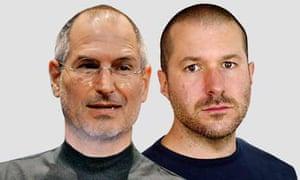 Steve Jobs and Jonathan Ives for Media 100 2009