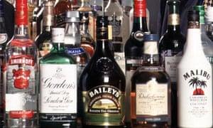Diageo alcohol