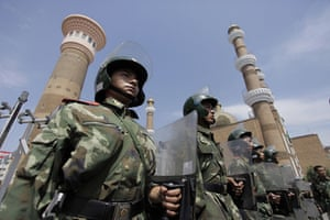 Dan Chung in Urumqi: Soldiers on the streets of Urumqi