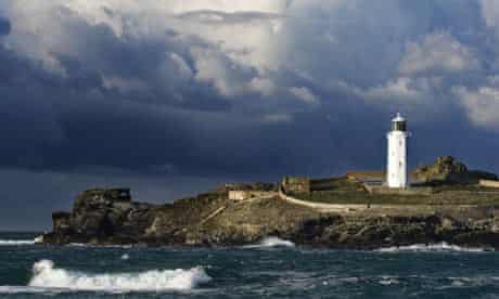 Lighthouse on Godrevy Island