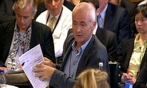 The Guardian's Nick Davies gives evidence to the Commons media committee on 14 July 2009.