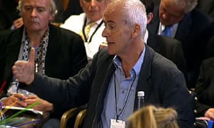 Guardian journalist Nick Davies gives evidence to the Culture, Media and Sport select committee