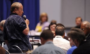Gene Robinson at the 76th general convention of the Episcopal church in Anaheim, California