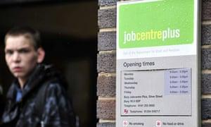 Jobcentre Plus office in Bury, Lancashire