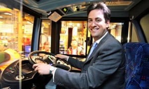 Ed Miliband visiting the Alexander Dennis Limited factory in Guildford