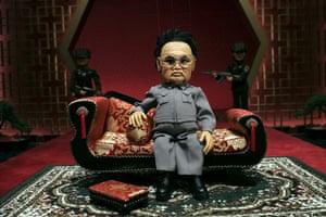 Kim Jong-il : Kim Jong-il satirised in Team America - World Police