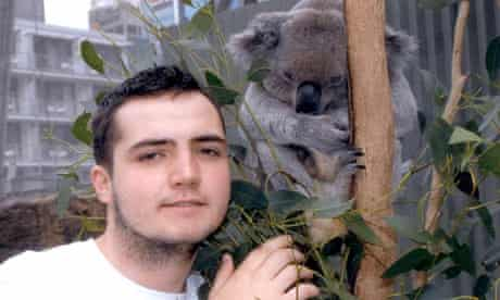 Jamie Neale, found alive after going missing in the Australian bush for nearly two weeks