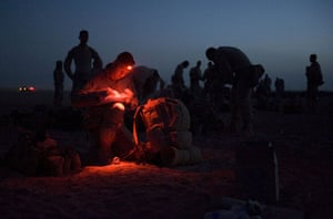 Operation Khanjar: Marines make preparations