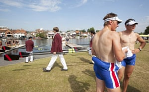 Heatwave: The annual Henley Royal Regatta on the river Thames