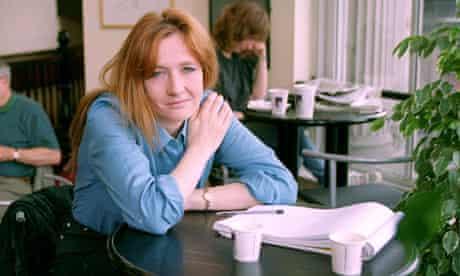 JK Rowling in 1998