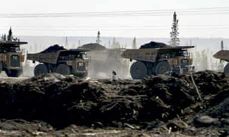 Blog Carbon emission :  Tar sands mining