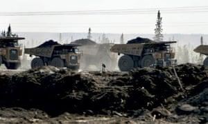 Blog Carbon emission :  Tar sands mining, Alberta, Canada