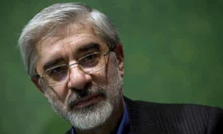 Mousavi-Iran-Protest