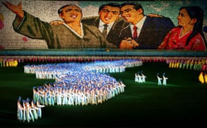 Kim Jong-il: Arirang Grand Mass gymnastics North Korea