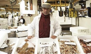 Billingsgate fish market: Roger Barton, the King of Billingsgate