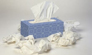 A box of tissues