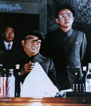 kim : Kim Jong-Il  and Kim Il-Sung