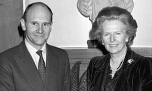 Politics - Margaret Thatcher and Christopher Prout - Conservative Euro MP - London