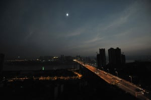 eclipse: solar eclipse in china