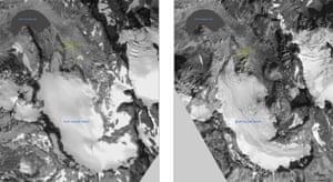 Declassified Arctic: Declassified satellite photographs : South Cascade glacier