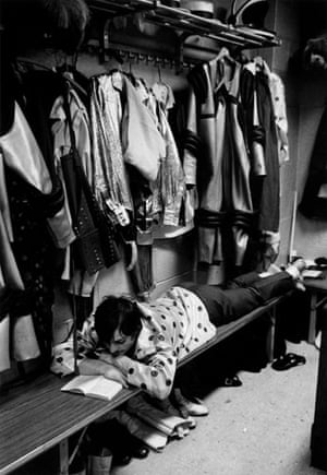 On Reading: André Kertész circus performer in dressing room