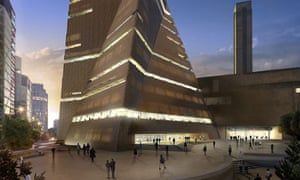 Artist's impression of the proposed Tate Modern extension