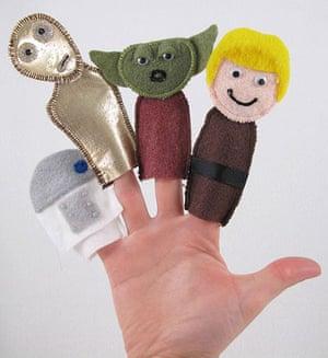 Stitch Wars: Star Wars Finger Puppets