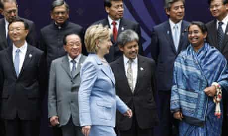 Hillary Clinton at Asean summit