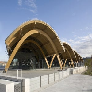Stirling prize shortlist: Bodegas Protos winery, Spain, by Rogers, Sirk, Harbour and Partners