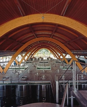 Stirling prize shortlist: Bodegas Protos winery, Spain by Rogers Stirk Harbour and Partners