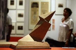 Bauhaus exhibition: Denkmal der Maerzgefallenen in Weimar by Gropius in the Martin-Gropius-Bau