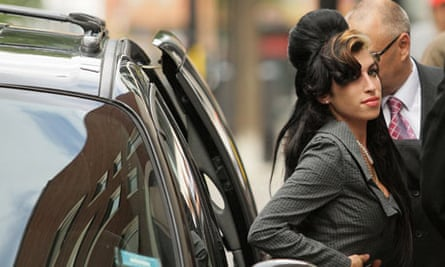 Amy Winehouse arrives at Westminster Magistrates' Court