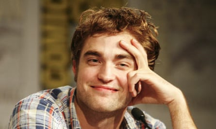 Robert Pattinson at Comic-Con