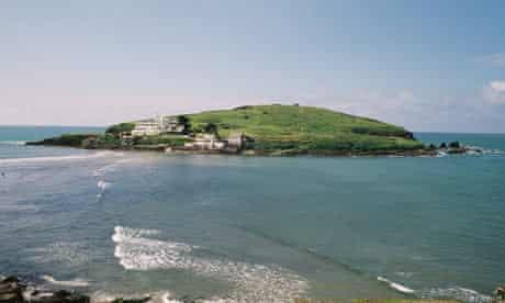 Burgh Island, just off the coast of south Devon