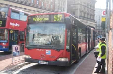 507 bendy bus last day (24/7/09)