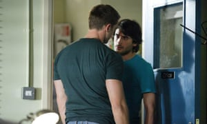 EastEnders characters Christian Clarke and Syed Masoor