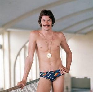 Men in swimsuits: 1978: David Wilkie