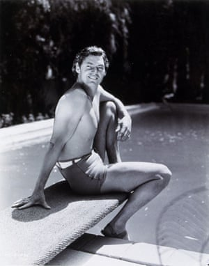 Men in swimsuits: 1934: Johnny Weissmuller, Olympic swimmer and Tarzan actor